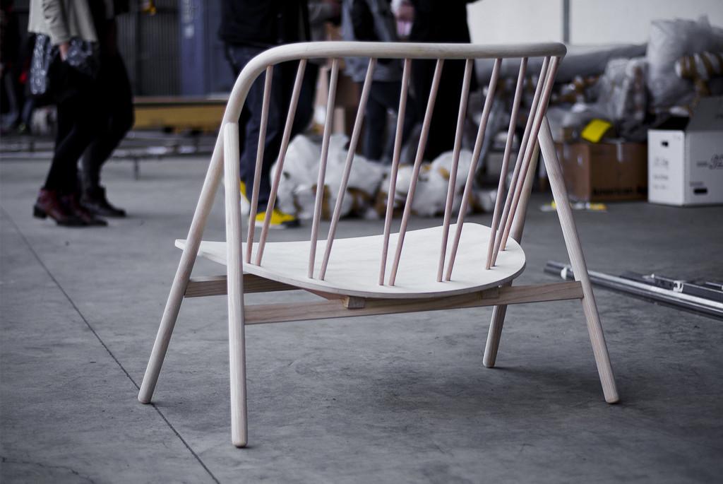 silla de madera diseño