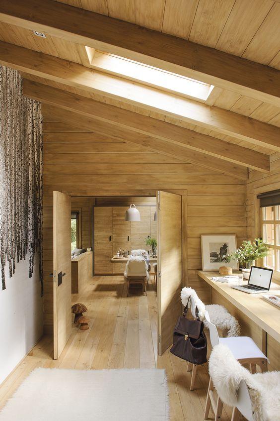 guardilla de madera