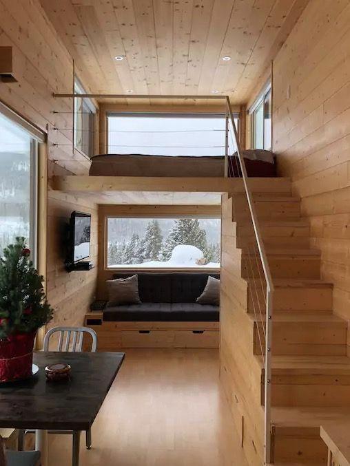 casa de madera pequeña