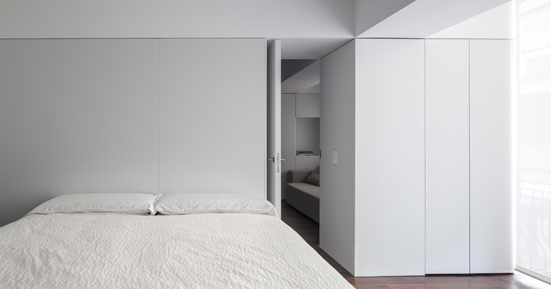 Urban apartment cama