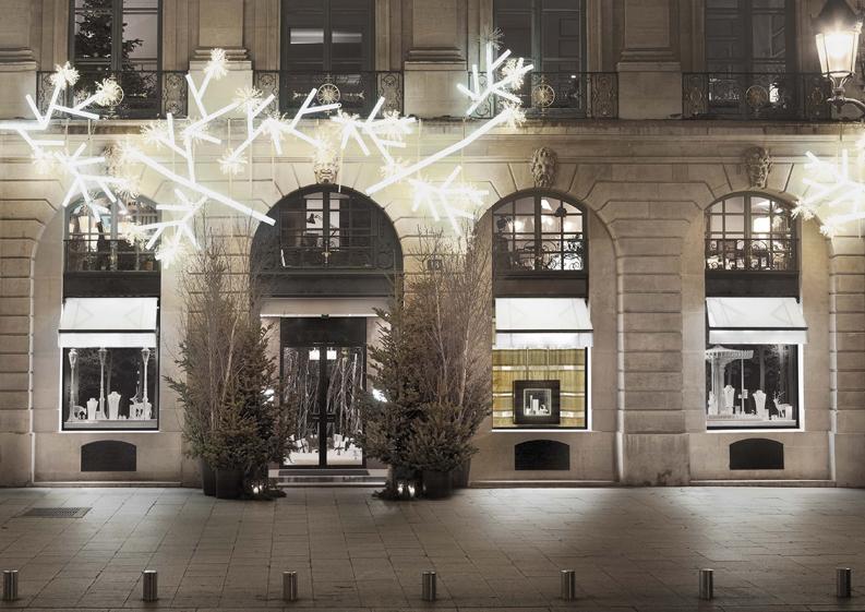 fachada exterior navidad